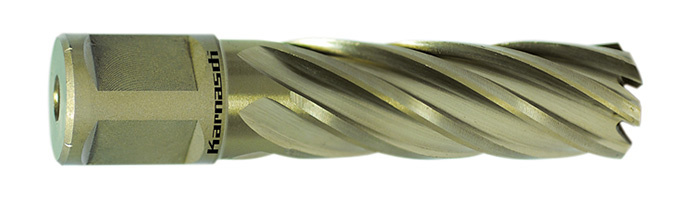 Сверла корончатые Karnasch Gold Line, длина 55 мм, хвостовик Weldon