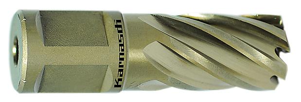 Сверла корончатые Karnasch Gold Line, длина 30 мм, хвостовик Weldon